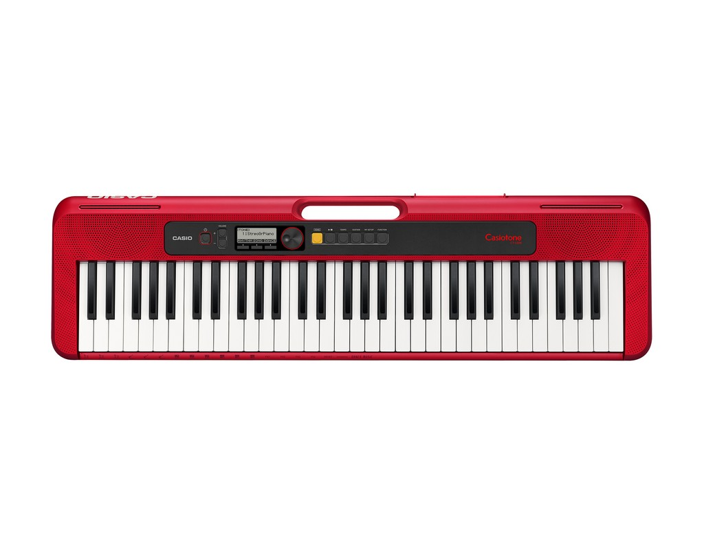 CASIO Keyboard Casiotone CT-S200 RD Bild 1