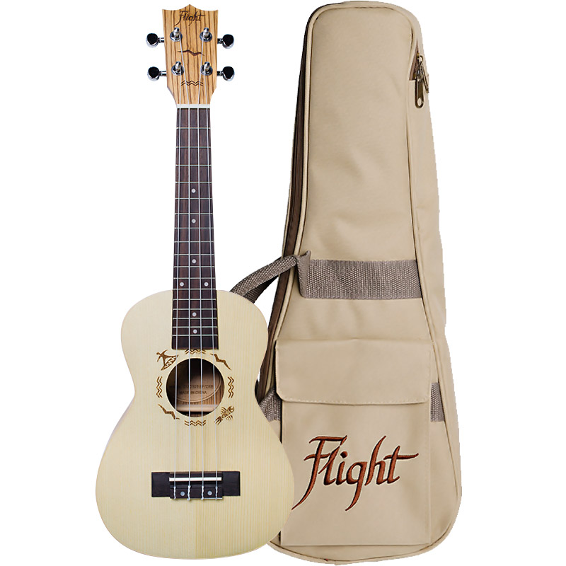Flight Concert Ukulele DUC 325 SP/ZEB Bild 1