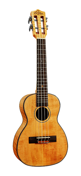 Leho Concert Ukulele Flamed Maple