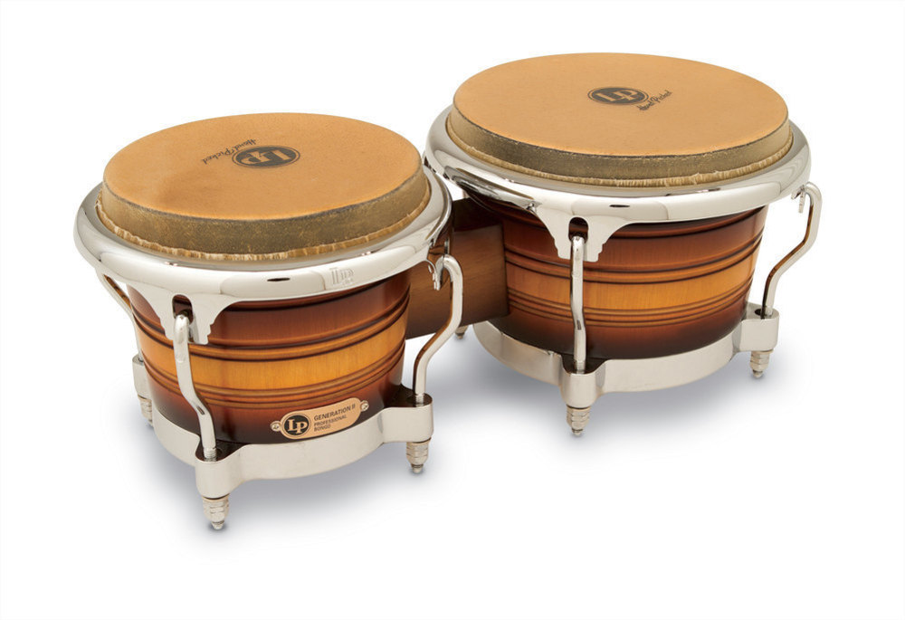 Latin Percussion Bongo Generation II Wood