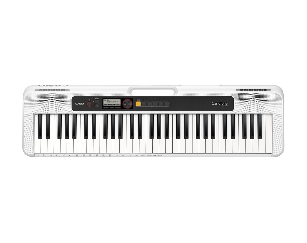 CASIO Keyboard Casiotone CT-S200 WE