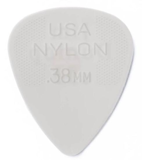 DUNLOP Nylon Standard Picks Player's Pack 0.38mm