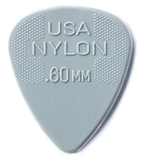DUNLOP Nylon Standard Picks Player's Pack 0.60mm