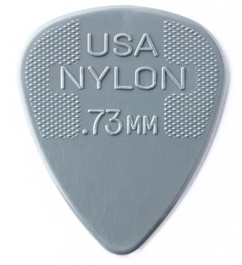 DUNLOP Nylon Standard Picks Player's Pack 0.73mm