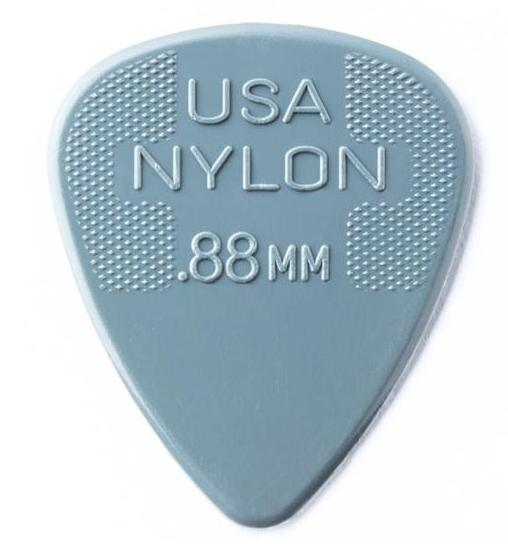 DUNLOP Nylon Standard Picks Player's Pack 0.88mm