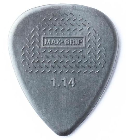 DUNLOP Nylon Max Grip Picks Player's Pack 1.14mm