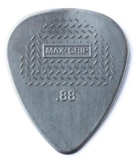 DUNLOP Nylon Max Grip Picks Player's Pack 0.88mm