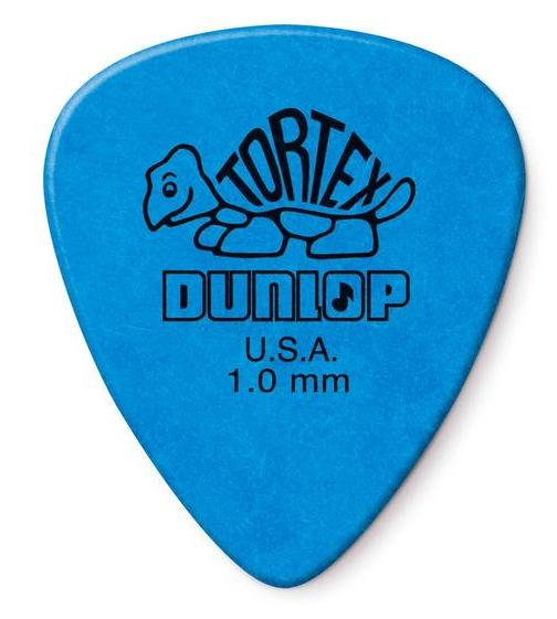 Dunlop Tortex Standard Picks Player's Pack 1.00mm