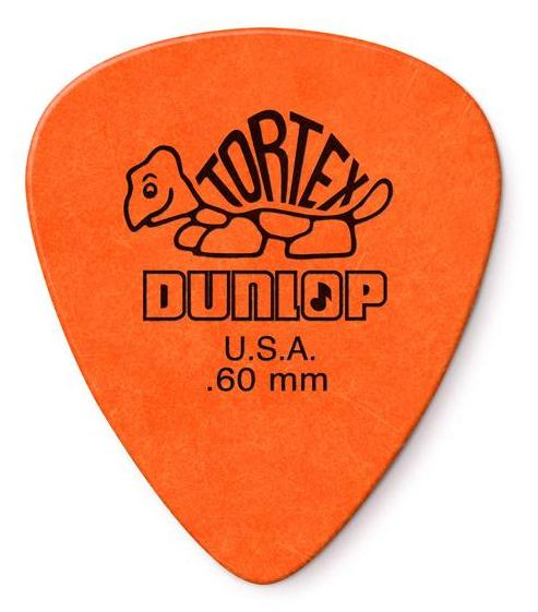 Dunlop Tortex Standard Picks Player's Pack 0.60mm