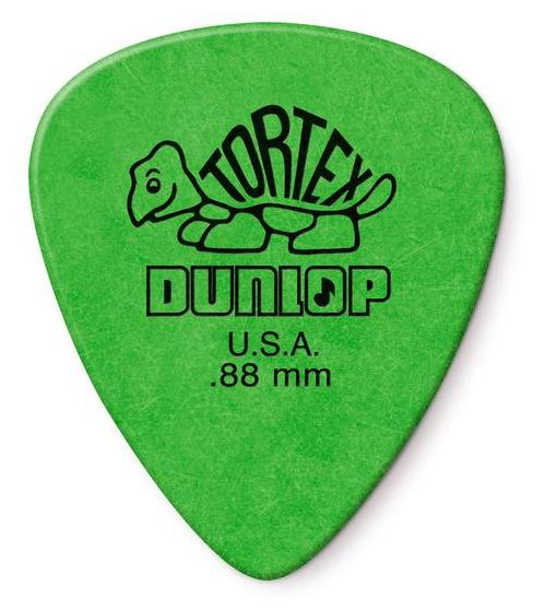 Dunlop Tortex Standard Picks Player's Pack 0.88mm