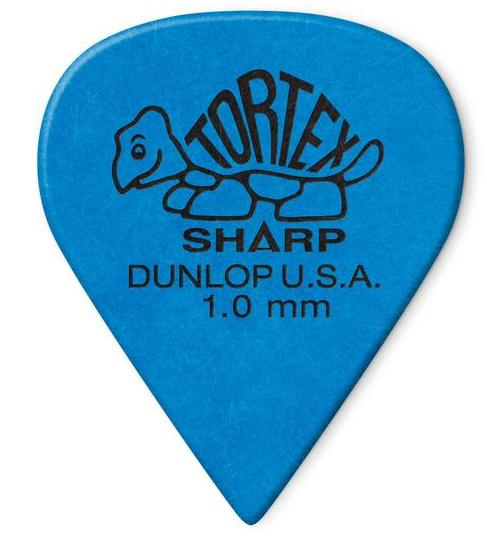 Dunlop Tortex Sharp Picks Player's Pack 1.00mm