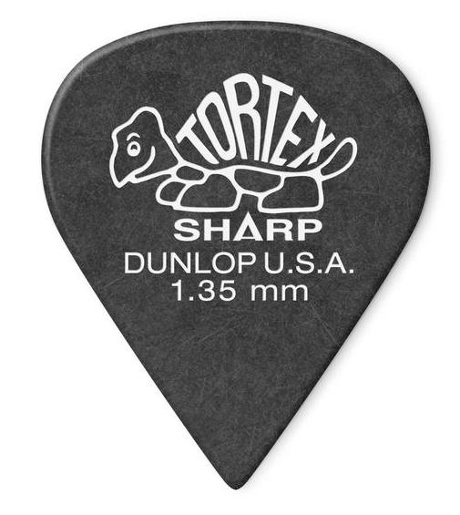 Dunlop Tortex Sharp Picks Player's Pack 1.35mm