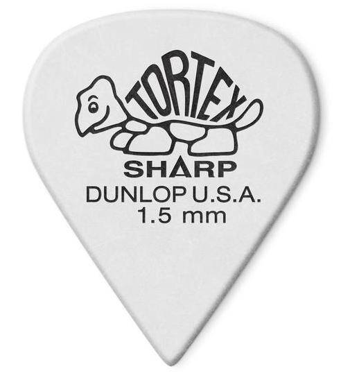 Dunlop Tortex Sharp Picks Player's Pack 1.50mm