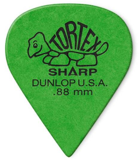 Dunlop Tortex Sharp Picks Player's Pack 0.88mm