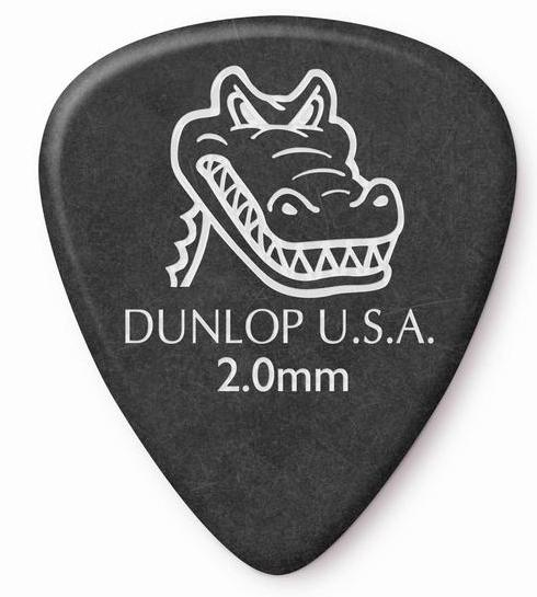 DUNLOP Gator Grip Picks Player's Pack 2.00 mm