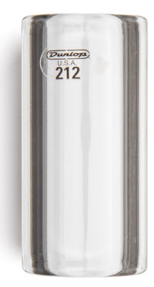 Dunlop 212 Glass Slide - Small, Short, Heavy Wall, 17 x 25 x 51 mm