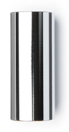 Dunlop 220 Chrome Steel Slide - Medium, Medium Wall, 19 x 22 x 60 mm