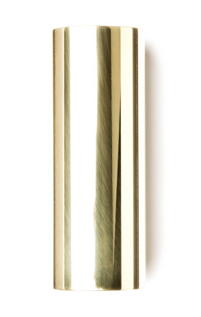 Dunlop 222 Brass Slide - Medium, Medium Wall, 19 x 22 x 60 mm