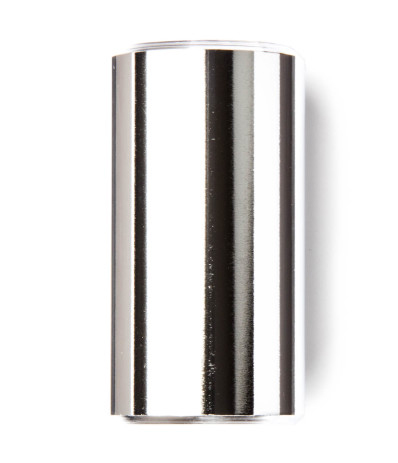 Dunlop 228 Chromed Brass Slide - Medium, Short, Heavy Wall, 19 x 27 x 51 mm