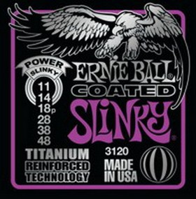 Ernie Ball Power Slinky Coated Titanium 011 - 048