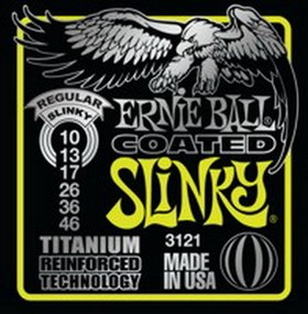 Ernie Ball Regular Slinky Coated Titanium 010 - 046