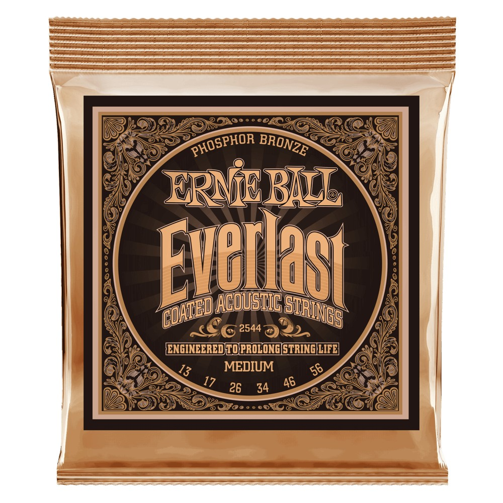 Ernie Ball Everlast Coatet Phosphor Bronze 013 - 056 für Westerngitarre