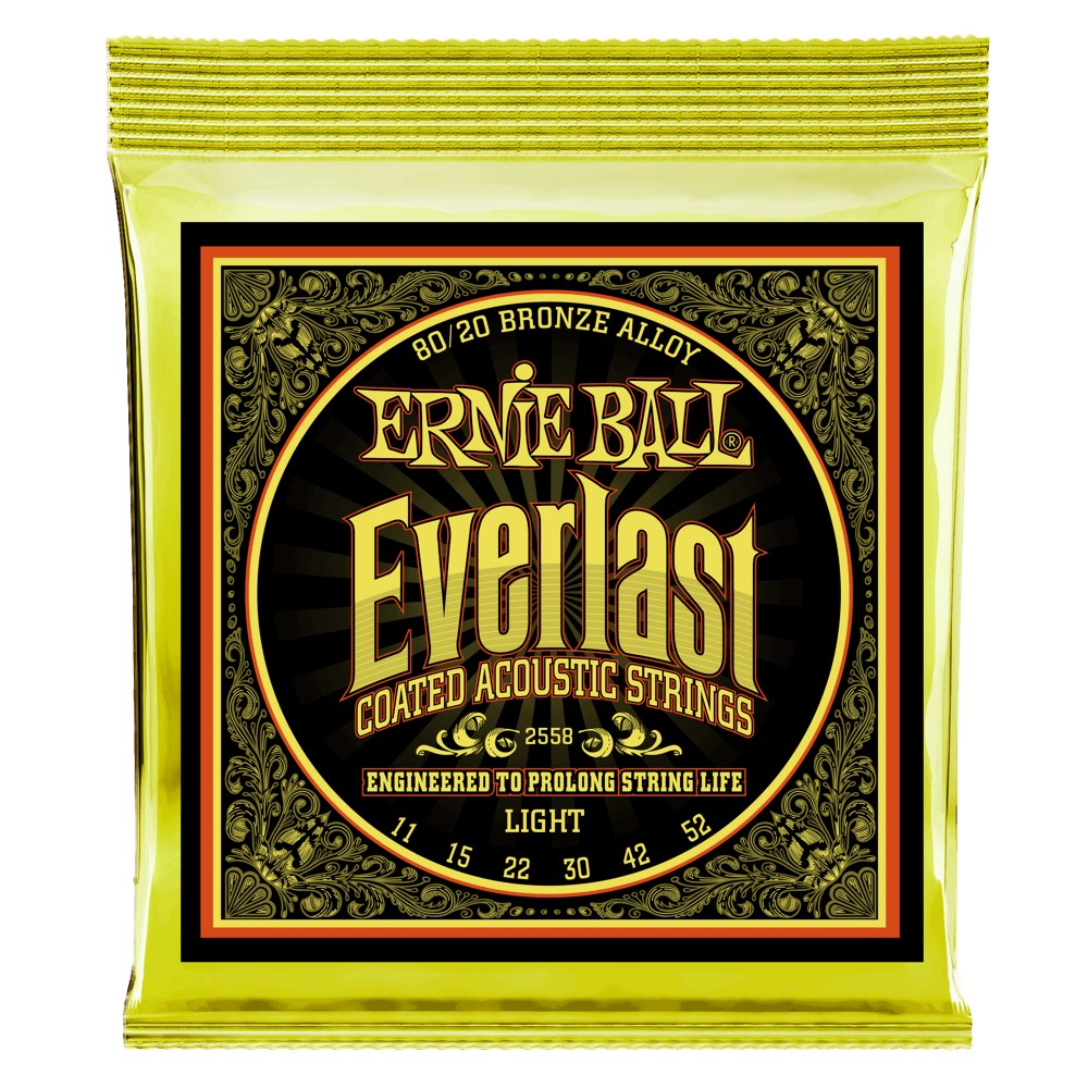 Ernie Ball Everlast Coatet 011 - 052 für Westerngitarre