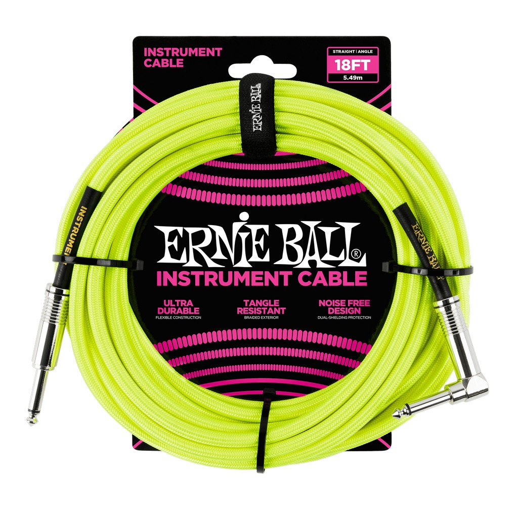 Ernie Ball Instrumentenkabel Yellow