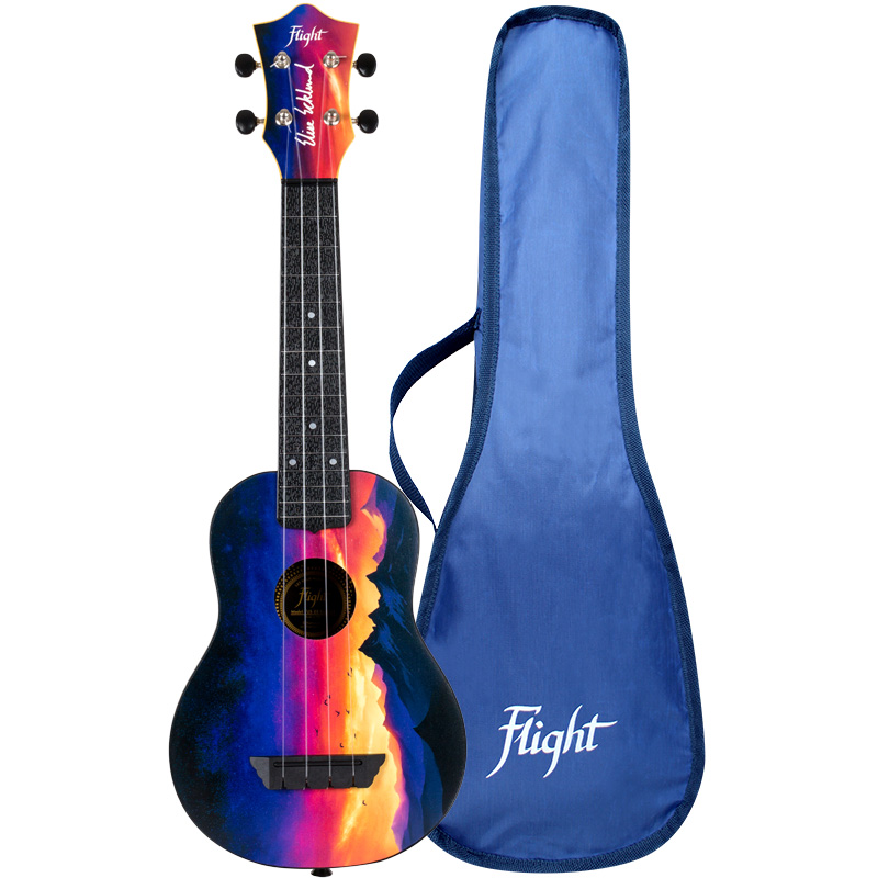 Flight Sopran Ukulele TUS EE Sunset