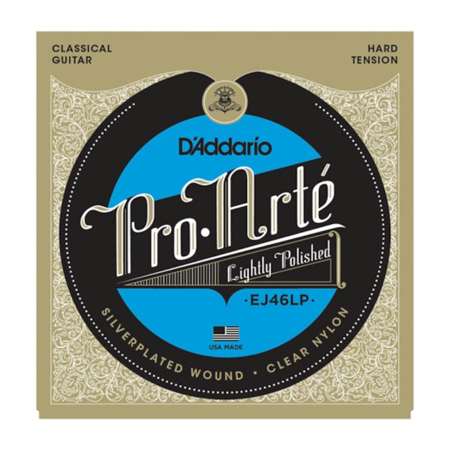 D'Addario EJ 46 LP Medium - Lightly Polished Silver