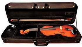 GEWA Violin Garnitur Set Ideale 1/4 spielfertig
