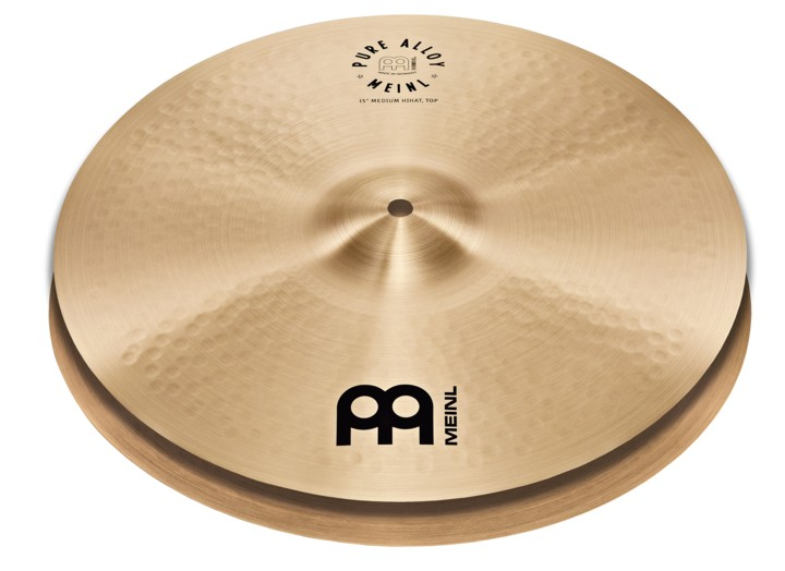 MEINL Cymbal 14 Pure Alloy Medium HiHat