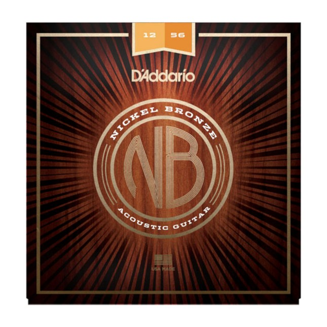D'Addario NB1256 Nickel Bronze