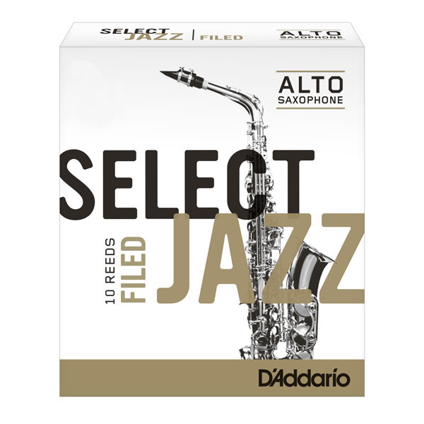 RICO Blasblätter Select Jazz Filed Alt-Saxophon Stärke 2H