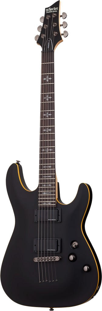 Schecter E-Gitarre Demon 6 Satin Black