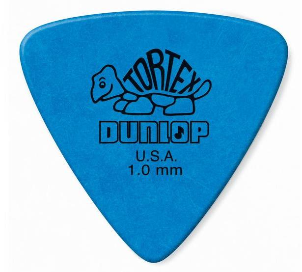 Dunlop Tortex Triangle Picks Player's Pack 1.00mm