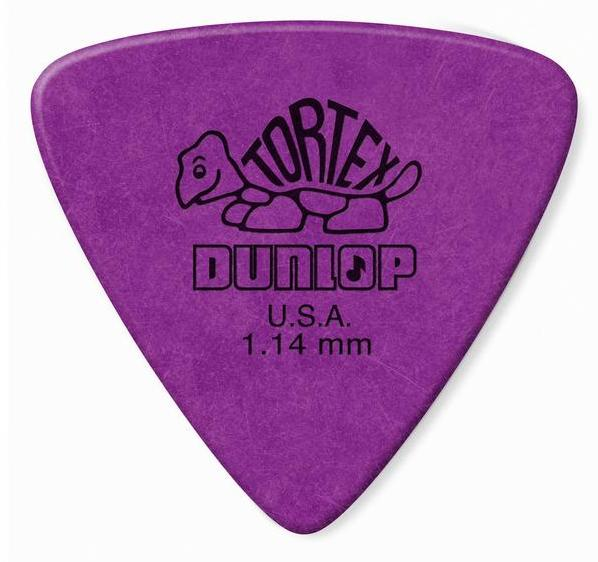 Dunlop Tortex Triangle Picks Player's Pack 1.14mm