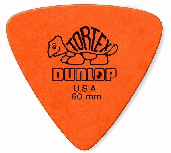 Dunlop Tortex Triangle Picks Player's Pack 0.60mm