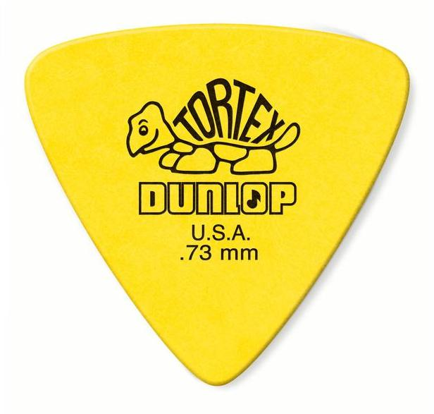 Dunlop Tortex Triangle Picks Player's Pack 0.73mm