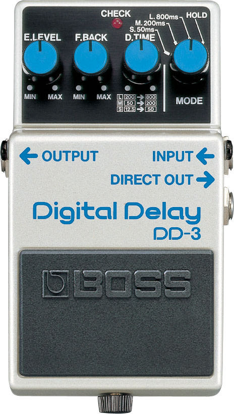BOSS Gitarren-Effekt DD-3 Digital Delay