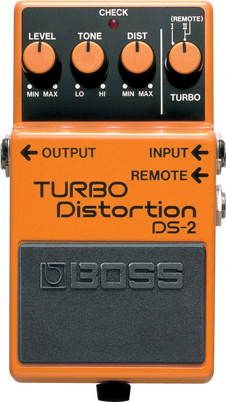 BOSS Gitarren-Effekt DS-2 Turbo Distortion