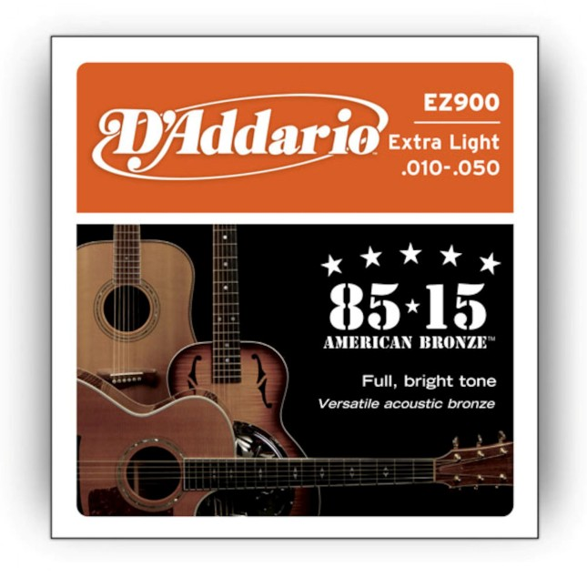 D'Addario EZ 900 Great American Bronze 85/15