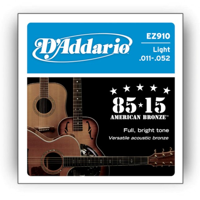 D'Addario EZ 910 Great American Bronze 85/15