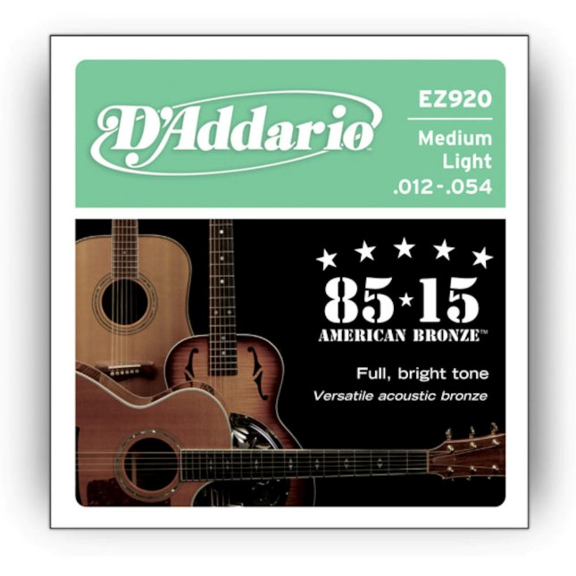 D'Addario EZ 920 Great American Bronze 85/15