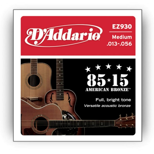 D'Addario EZ 930 Great American Bronze 85/15