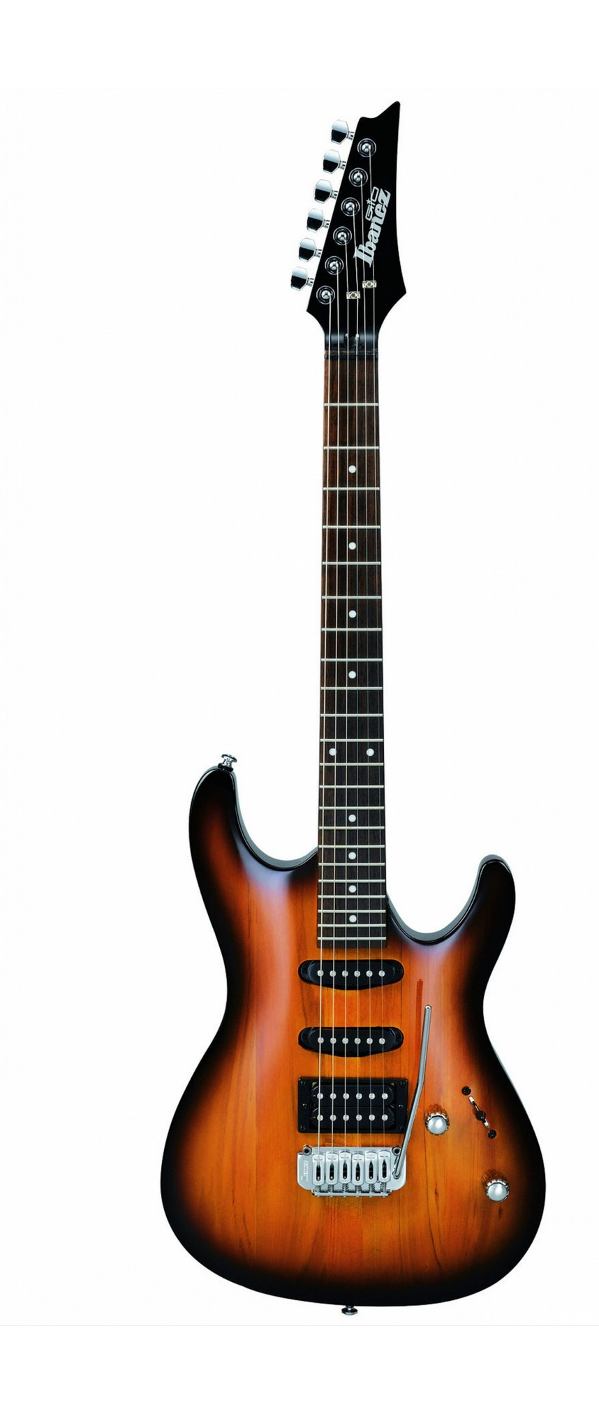 Ibanez E-Gitarre GSA 60 BS Brown Sunburst