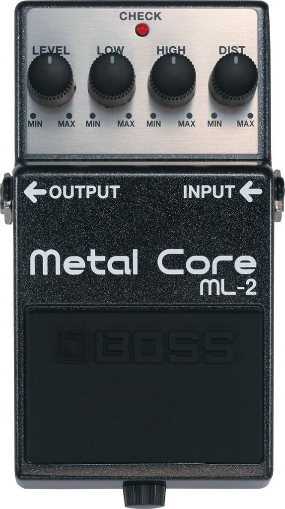 BOSS Gitarren-Effekt ML-2 Metal Core