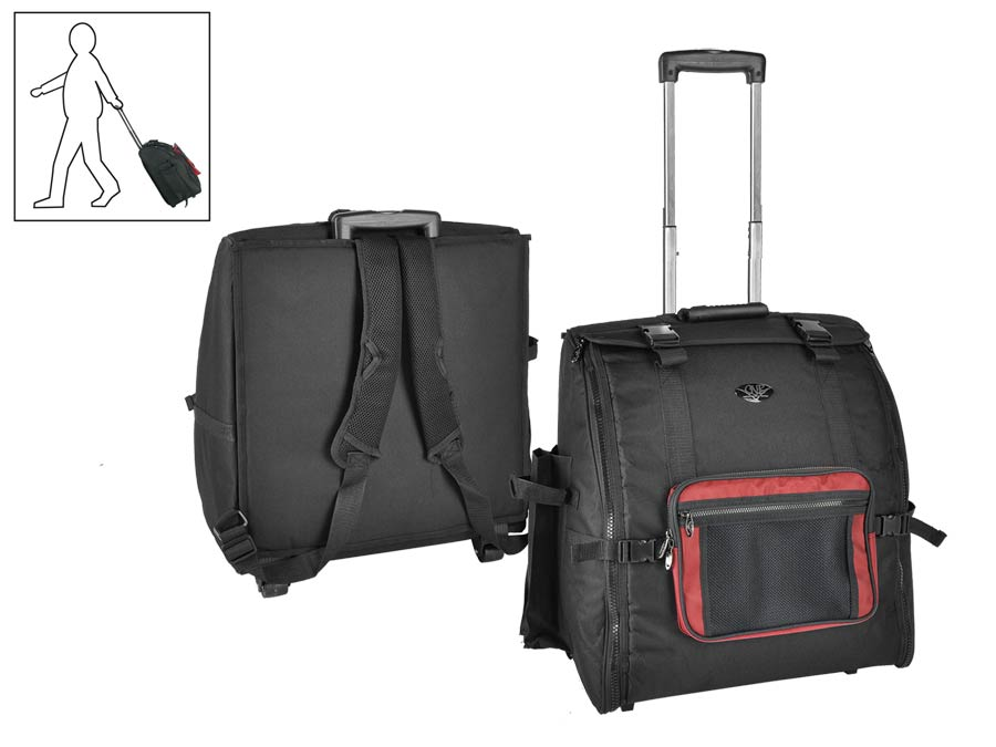 Accordeon Gigbag mit Trolley 48 Bass
