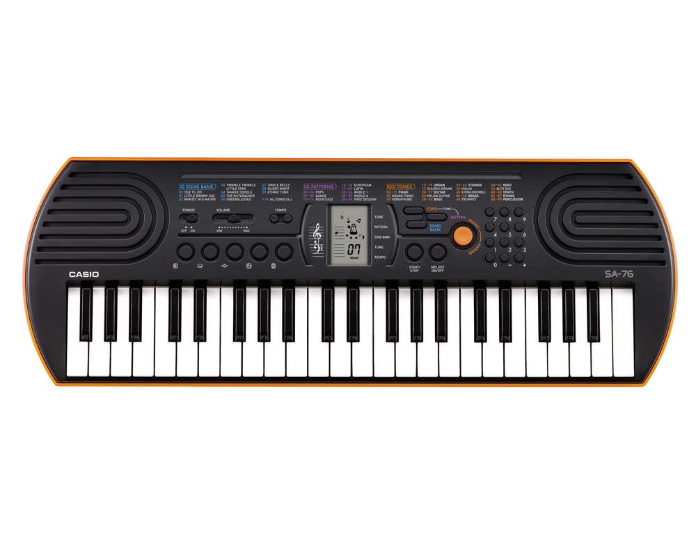 CASIO Keyboard SA 76