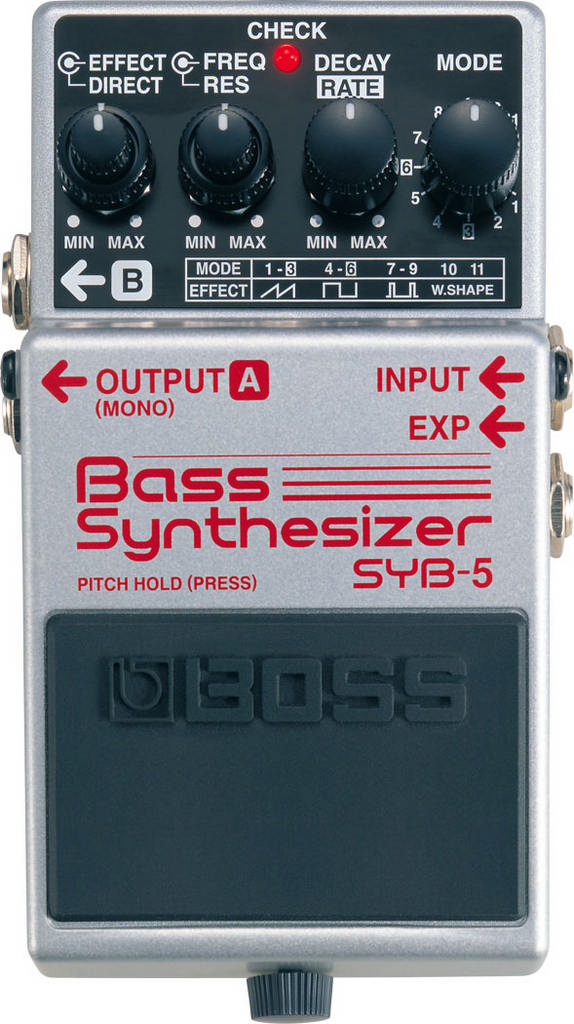 BOSS Bass-Effekt SYB-5 Bass Synthesizer